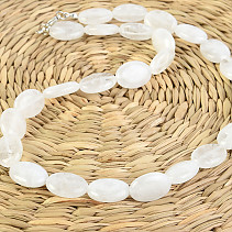 White Quartz Necklace 50cm