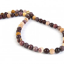 Mookait beads necklace 45 cm