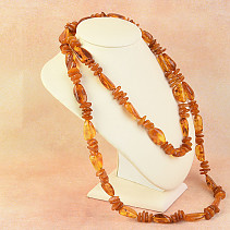 Extra necklace 125cm with amber 87, g