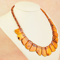 Necklace 46cm honey amber 22,5g