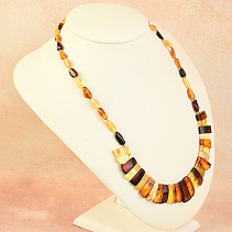 Necklace 52cm amber mix 14.8g