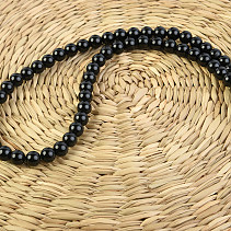 Round necklace 50cm tourmaline 8mm
